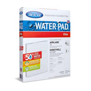 BestAir A35W Whole House Humidifier Replacement White Water Pad For Aprilaire & Honeywell Models